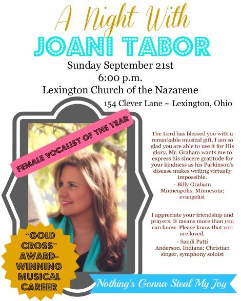 night with joani tabor
